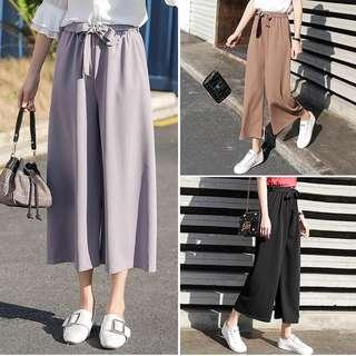 Wide leg pants(M,L,XL)