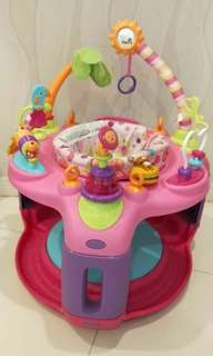 Bright Starts Sweet Safari Bounce-a-Round Activity Center. Well maintained condition. Toys are all operating well.