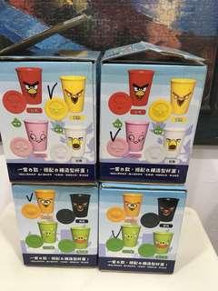 7-11憤怒鳥造型杯