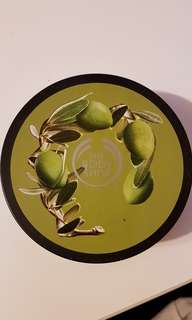 new never used! The Body Shop Olive Body Butter