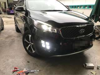 High spec Hid conversion system for Kia Sorento without Factory Hid