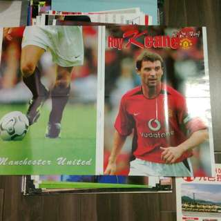 Manchester United Poster 曼聯五呎接駁高大海報60*22吋