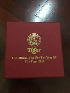 Tiger beer zodiac year of tiger gold coin