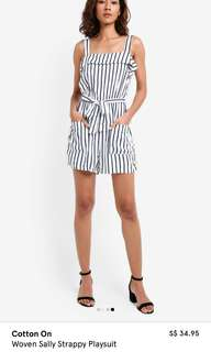 Cotton On Woven Sally Strappy Playsuit