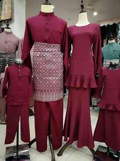 Kurung Alora Family Set
