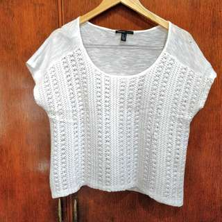 Mango Casual White Top (Free shipping)