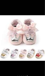 Baby Girl Shoes soft shoe princess shoe infant newborn toddler