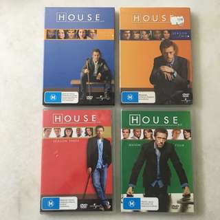 Used Series DVD - RM25 each season