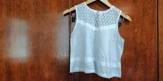 Just G White Top (Free shipping)