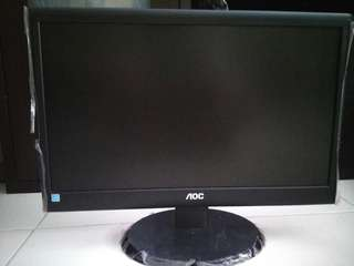 Noc 18.5 LCD monitor as good as new and in good working condition.