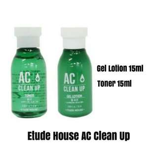 AC Clean Up Gel Lotion and Toner (Travel Size)