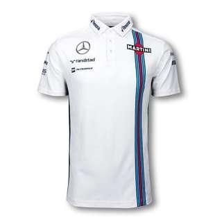 Hackett Williams Martini Racing Polo 2016- White