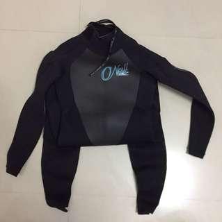 O'Neil long dive suit size S (EU36/UK8)