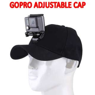 🚚 TGP080 GopPro hats and baseball caps with gopros mounts