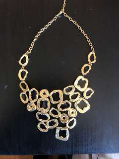 Gold plated Karin Sultan necklace