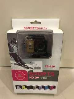 Sports HD DV camera. FB-720 Brand New!