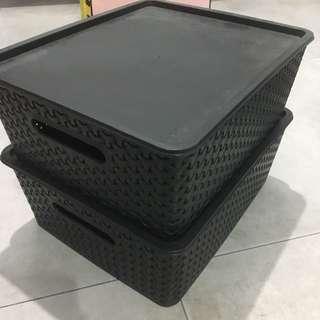 Plastic Weave Boxes