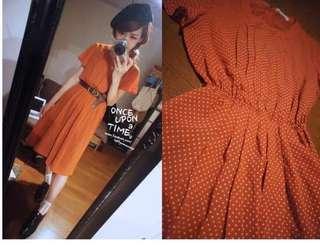 🚚 徵 跪求😭茂木太太 從前從前 dresseum點點洋裝