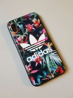 iPhone X Case Adidas Floral
