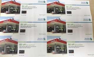 caltex petrol $30 voucher (expiring on 31may2018)