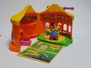 Dora the Explorer Circus Tent Playset