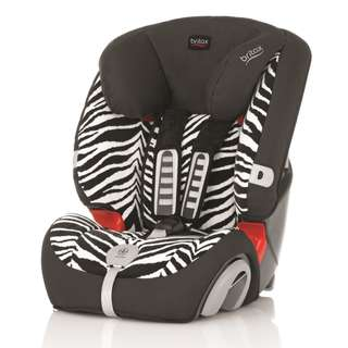 Britax Car Seat - Zebra Pattern