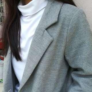 Used Spring / Autumn/Winter Woolen Coat