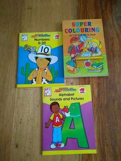 3 Activity Books for Toddlers