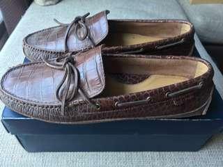 Colehaan driving shoes brown US7.5