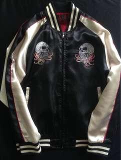 Sukajan Jacket Skull Embroidery Vintage Japan Design
