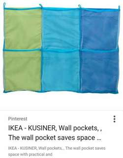 Brand New IKEA Wall Pockets