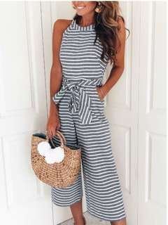 Stripes Jumpsuit LOOKING FOR