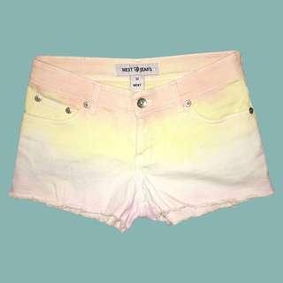 Pastel Ombré Shorts