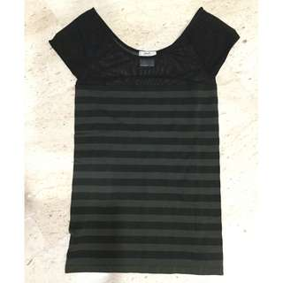 Pre-owned Ladies Stretcy Top (Size S/M)