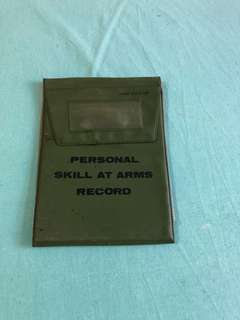 英軍 Personal Skill-at-arm Record