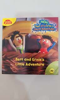 BEST SELLER Pixi Book Buku Bayi Anak Benn Finn Island Adventure / Bert Ernie Little Adventure