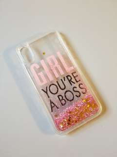 iPhone X Case bling