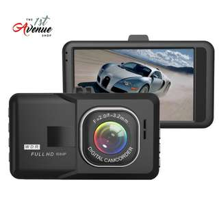 3.0 inch Dash Camera Car DVR HD Video Recorder G-sensor Registrator Parking Dash Cam Vehicle Camera Car Cam