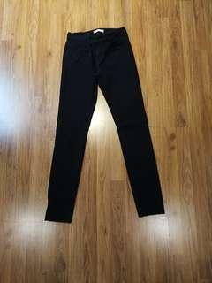 Black pants (Uniqlo size 24)