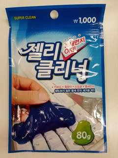 Keyboard cleaning gel pad