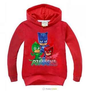 Kids pj mask hoodie jacket
