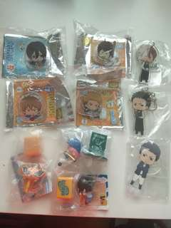 Daiya no ace / Naruto Shippuden anime merchandise