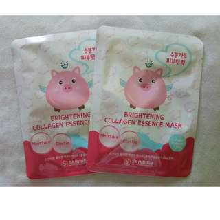 Skindigm Brightening Collagen Essence Mask
