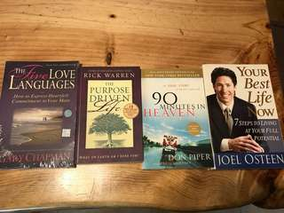 Christian Books personal development
