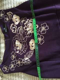 Doublewoot embroidery dress