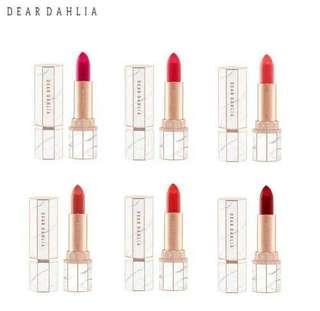 (韓國代購)Dear Dahlia 雲石唇膏