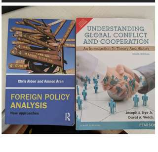 RSIS MSc textbooks
