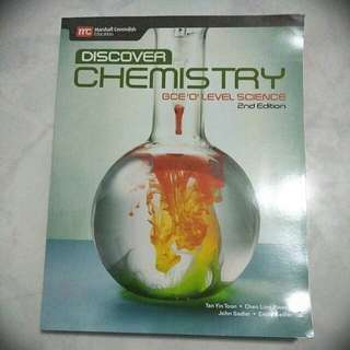 Discover Chemistry GCE O Level Science - 2nd Edition Textbook by Marshall Cavendish Education