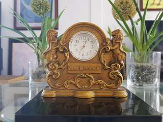 Vintage Golden Clock