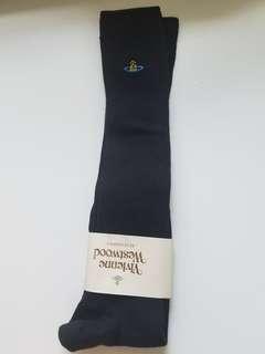 日本 Vivienne Westwood 黑色 長襪
